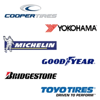We carry many major tire brands!